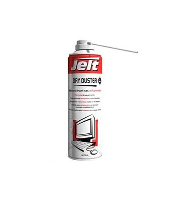 JELT Aéro dépouss gaz sec DRYDUSTER inflamm ttes positions 650 ml brut–275ml net, poids net 151g 007910