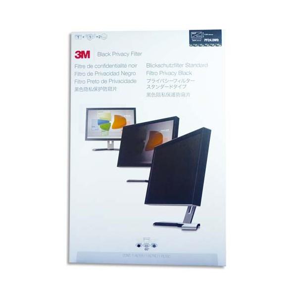 3M Filtre de confidentialité noir pour écran 24'' (photo)