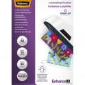 FELLOWES Boîte de 25 pochettes de plastification format A4 80 microns