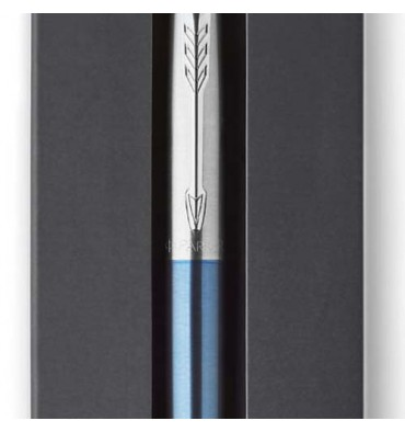 PARKER Blister 1 stylo bille pointe moyenne Jotter. Corps bleu waterloo CT