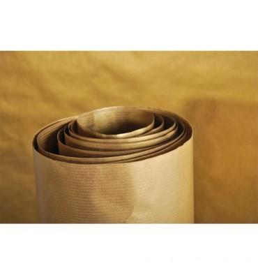 CLAIREFONTAINE Rouleau de papier Kraft couleur or recto-verso 70g - Dimensions : 0,7 x3 mètres