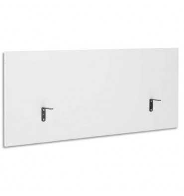 GAUTIER Ecran de séparation pour bureau Yes Blanc - L140 x H60 x P2 cm