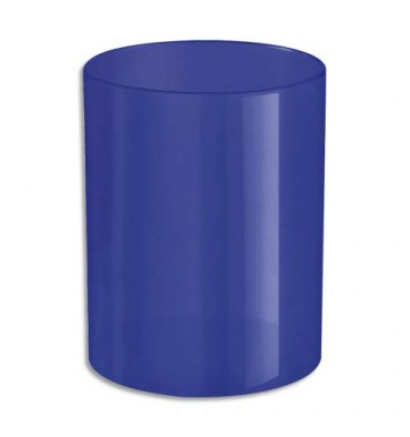NEUTRE Pot à crayons bleu