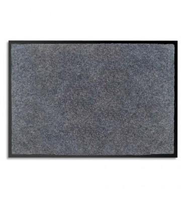 PAPERFLOW Tapis d'accueil odoriférant en polyamide. Coloris gris. Dimensions 60 x 80 cm, épaisseur 6 mm