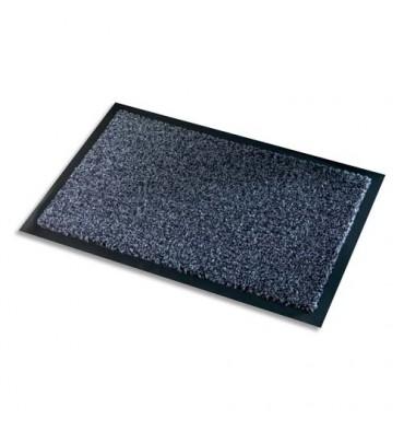 PAPERFLOW Tapis d'accueil intérieur Premium, en polyamide. Coloris gris. Dimensions 60 x 90 cm, épaisseur 10 mm