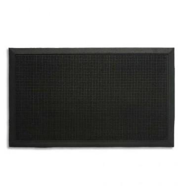 PAPERFLOW Tapis picots en caoutchouc, bords biseautés. Dimensions 80 x 100 cm