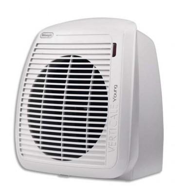 DELONGHI Radiateur soufflant 2000W, thermostat ajustable - blanc