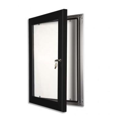STEWART SUPERIOR Vitrine à pinces fermeture à clé waterproof. Coloris noir. Format A3 - 36,7 x 49 x 6,3 cm