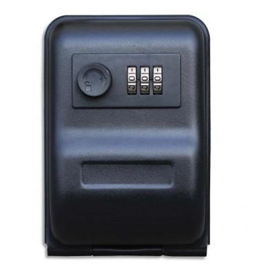RESKAL Garde clé à combinaison, 3 chiffres - 14,5 x 10 x 5,7 cm