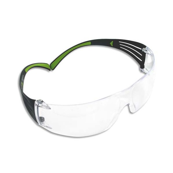 3M Lunette de Protection Secure Fit 400 Incolore - Anti-rayure et Anti-buée SF401AF (photo)