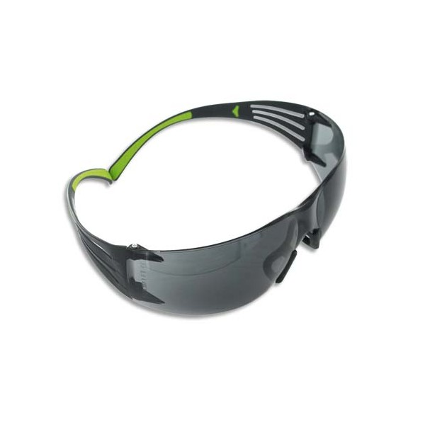 3M Lunette de Protection Secure Fit 400 Grise - Anti-rayure et Anti-buée SF402AF (photo)