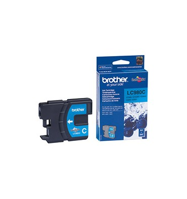 BROTHER Cartouche jet d'encre cyan LC980C