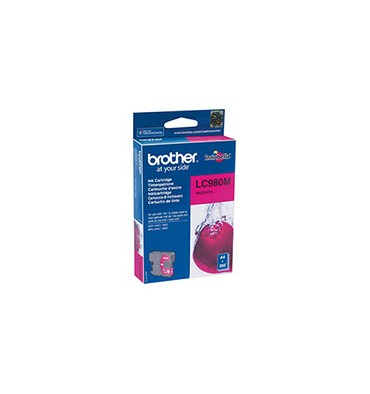 BROTHER Cartouche jet d'encre magenta LC980M