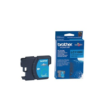 BROTHER Cartouche jet d'encre cyan LC1100C