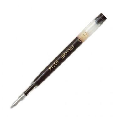 PILOT Recharge d'encre noire pour stylo à bille encre gel pointe fine G2