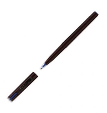 PENTEL Stylo feutre à plume encre bleue corps noir largeur de trait 0,3 mm JM 20