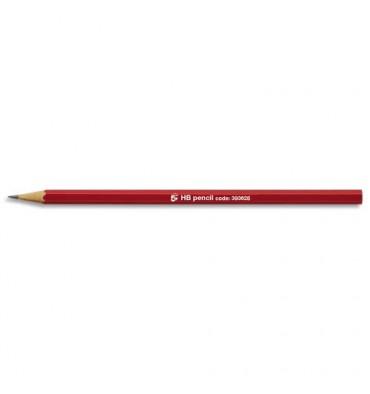 5 ETOILES Crayon graphite tête coupée mine HB