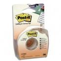 POST-IT Bande de correction adhésive et repositionnable sur dévidoir plastique jetable 25.4 mm x 17.7 m