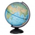 JPC Globe en kit prêt à monter, lumineux sphère bleue 30cm