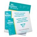 CLAIREFONTAINE Pochette de 12 feuilles 95g papier calque format A4