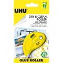 UHU DRY ET CLEAN ROLLER jetable non permanent 8.5 M x 6.5 mm