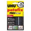 UHU Etui de 21 pastilles PATAFIX blanche Pro Power résistance ultra forte 3kg