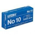 RAPID Agrafes N°10 en boîte de 5000
