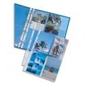 ELBA Sachet de 10 pochettes perforées pour 8 photos 10 x 15 cm, en polypropylène 9/100e, fond transparent
