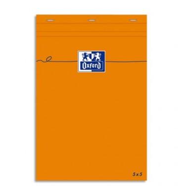 OXFORD Bloc IDEA ligné 7 mm format 7,4 x 10,5 cm 80g non perforée 5x5