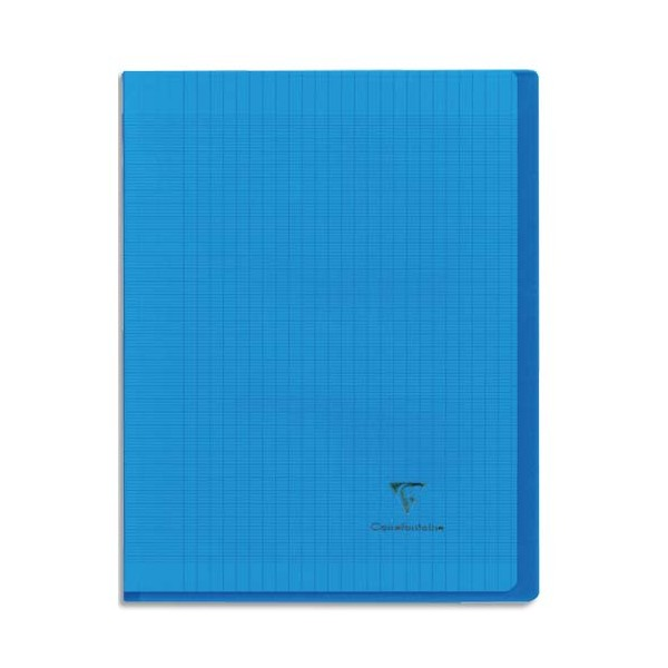 Clairefontaine cahier koverbook piq re 96 p sey s a5 assortis - Protege cahier avec rabat ...