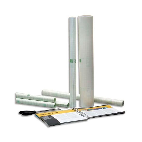 AGIPA Rouleau couvre-livres 0,33 x 10 m repositionnable sous film rétractable - Qualité mate - 60 microns (photo)