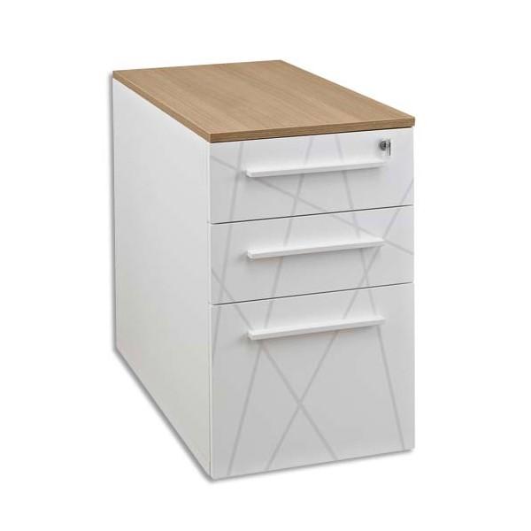 gautier top bois chene pour caisson hauteur bureau rangement bas ou mi hauteur armoire sunday. Black Bedroom Furniture Sets. Home Design Ideas