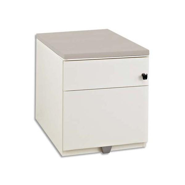gautier top bois gris pour caisson hauteur bureau. Black Bedroom Furniture Sets. Home Design Ideas