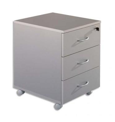 SIMMOB Caisson mobile 3 tiroirs alu WICMA303AL