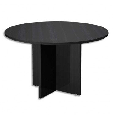 MT INTERNATIONAL Table ronde Concept diamètre 120 x H76 cm noir frêne