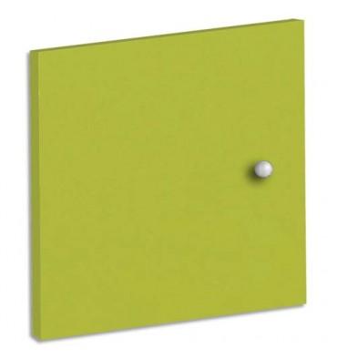 MT INTERNATIONAL Lot de 2 Portes + Fonds pour multi-cases MT1 Elégance - L32,5 x H33 x P1,6 cm vert