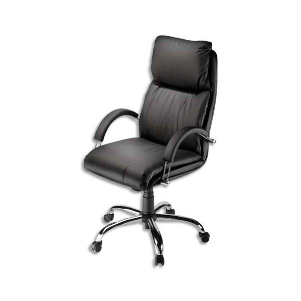 fauteuil de direction nadir noir 62044 livraison en 24 heures. Black Bedroom Furniture Sets. Home Design Ideas