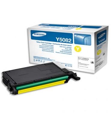 SAMSUNG Cartouche toner laser jaune CLT-Y5082L
