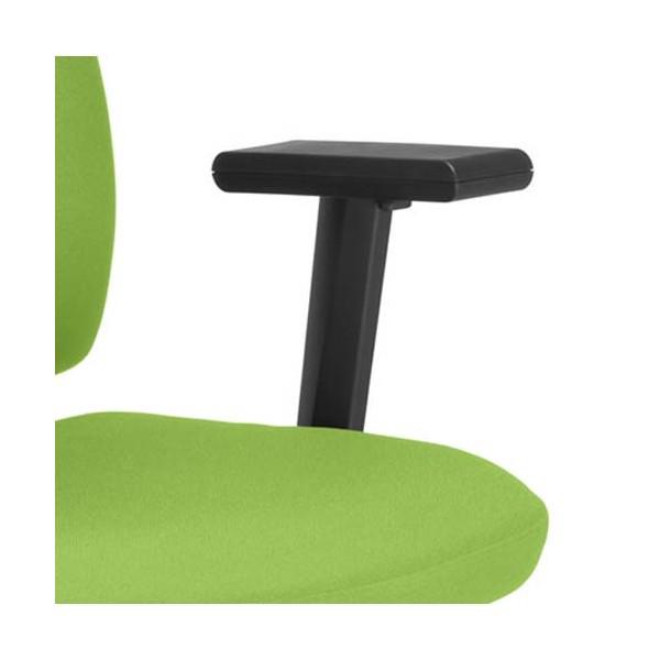 NOWY STYL Paire d'accoudoirs réglables pour sièges Square et Twiteur coloris noir