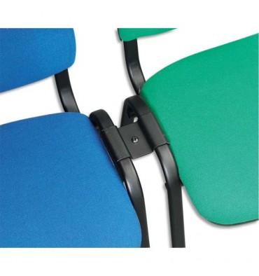 Liaison métallique pour chaises Iso de conférence, une liaison pour deux chaises