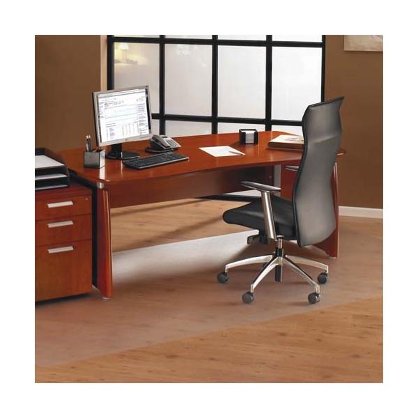 FLOORTEX Tapis protège-sol polycarbonate pour sol dur rectangle 121 x 152 cm