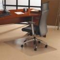 FLOORTEX Tapis en polycarbonate pour sol moquette 119 x 89 cm