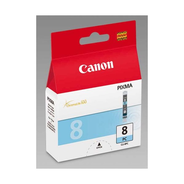 CANON Cartouche jet d'encre cyan CLI-8 PC