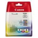 CANON Multipack jet d'encre CLI-8
