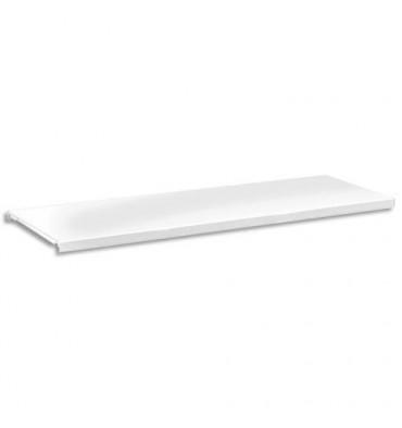 MT INTERNATIONAL Tablette armoire L120 - L105 x H2 x P36 cm coloris Blanc
