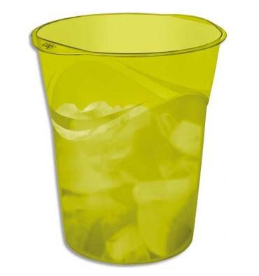 CEP Corbeille à papier 14 L Happy vert