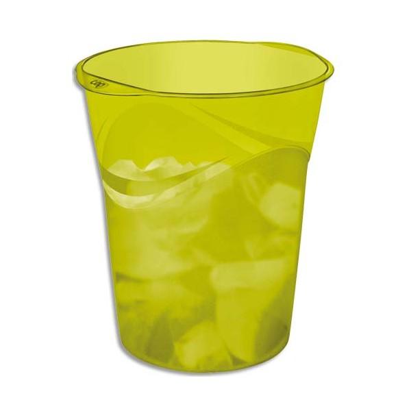 CEP Corbeille à papier 14 L Happy vert (photo)