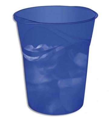 CEP Corbeille à papier 14L Happy bleu