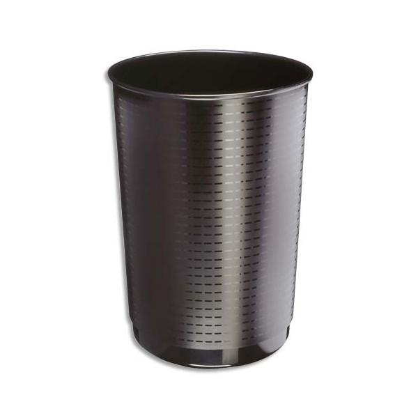 CEP Corbeille à papier Maxi 40 litres noir