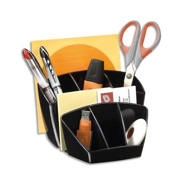 CEP Multipot Gloss 6 compartiments avec 2 espaces coloris noir